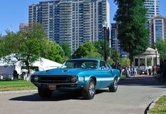 Uitstekend Ford Mustang, het Lagerhuiscar show van Boston Stock Foto's