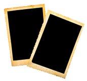 Uitstekend fotoframe Stock Foto's