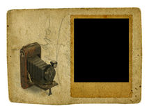Uitstekend fotoframe Stock Fotografie