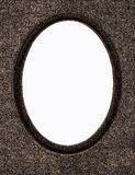 Uitstekend fotoframe dat op wit wordt geïsoleerds Royalty-vrije Stock Afbeelding