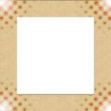 Uitstekend fotoframe met elegante patronen Royalty-vrije Stock Foto