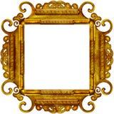 Uitstekend fotoframe met elegante patronen Royalty-vrije Stock Foto's