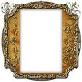Uitstekend fotoframe met elegante patronen Royalty-vrije Stock Fotografie