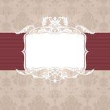 Uitstekend frame Royalty-vrije Stock Afbeelding