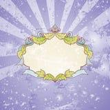 Uitstekend frame Royalty-vrije Stock Foto