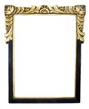 Uitstekend frame, dat op witte backgound wordt geïsoleerdt stock foto's