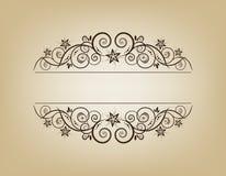 Uitstekend frame. Elegant. royalty-vrije illustratie