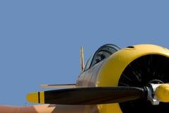 Uitstekend Geïsoleerdr Vliegtuig, Stock Fotografie