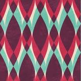 Uitstekend geometrisch naadloos patroon Royalty-vrije Stock Foto