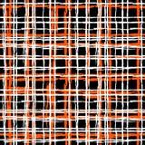 Uitstekend gestreept patroon met geborstelde lijnen Stock Foto's