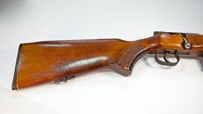 Uitstekend geweer in een bebouwd beeld Stock Foto