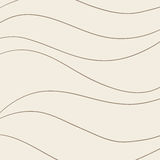 Uitstekend golvend patroon Stock Foto