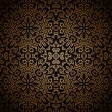 Uitstekend gouden patroon Royalty-vrije Stock Fotografie