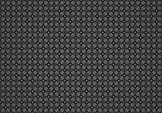 Uitstekend grijs zwart patroon voor achtergrond Royalty-vrije Stock Foto