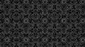 Uitstekend grijs zwart patroon voor achtergrond Royalty-vrije Stock Afbeelding