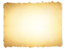 Uitstekend grunge gebrand document Stock Afbeelding
