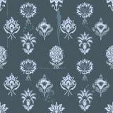 Uitstekend grunge naadloos patroon als achtergrond stock illustratie