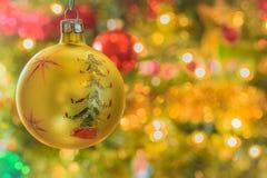 Uitstekend Hand Geschilderd Ornament Stock Afbeelding