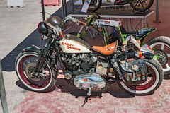 Uitstekend Harley Davidson Stock Afbeelding