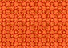 Uitstekend helder oranje patroon voor achtergrond Royalty-vrije Stock Afbeeldingen