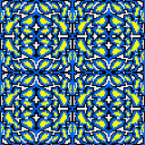 Uitstekend helder pixel mooi abstract naadloos geometrisch patroon stock illustratie