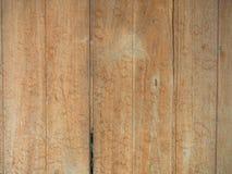 Uitstekend hout van achtergrondtextuur met knopen en spijkergaten Royalty-vrije Stock Foto