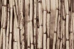 Uitstekend Houten Cane Background Royalty-vrije Stock Afbeelding