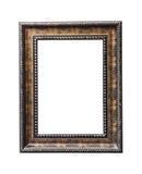 Uitstekend houten geïsoleerd kader Royalty-vrije Stock Afbeeldingen