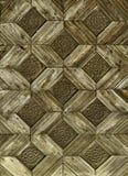 Uitstekend houten patroon Royalty-vrije Stock Foto's