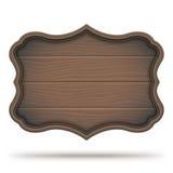 Uitstekend houten uithangbord Stock Afbeelding
