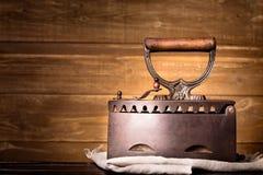 Uitstekend houtskoolijzer Stock Foto