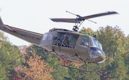 Uitstekend Huey Helicopter Royalty-vrije Stock Afbeeldingen