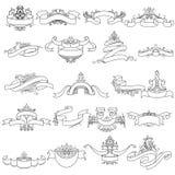 Uitstekend Kalligrafisch Ontwerp Royalty-vrije Stock Afbeeldingen