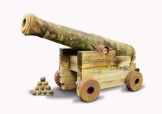 Uitstekend kanon Stock Afbeelding