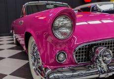 Uitstekend Klassiek Ford Thunderbird Royalty-vrije Stock Foto