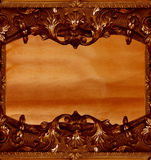 Uitstekend klassiek frame royalty-vrije stock fotografie