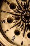 Uitstekend Kompas royalty-vrije stock foto's