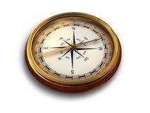 Uitstekend kompas Royalty-vrije Stock Afbeelding