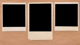 Uitstekend leeg fotoframe Royalty-vrije Stock Afbeeldingen