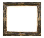 Uitstekend leeg versleten en grungy frame stock fotografie