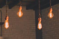 Uitstekend licht decor Stock Afbeelding