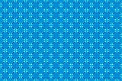 Uitstekend lichtblauw patroon voor achtergrond Royalty-vrije Stock Fotografie