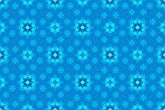 Uitstekend lichtblauw patroon voor achtergrond Stock Foto