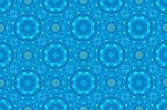 Uitstekend lichtblauw patroon voor achtergrond Royalty-vrije Stock Afbeeldingen