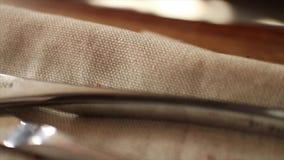 Uitstekend Medisch Instrumenten Macro Dicht Omhooggaand Doll stock videobeelden