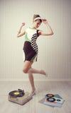 Uitstekend meisje Stock Afbeelding