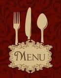 Uitstekend menu royalty-vrije illustratie