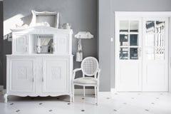 Uitstekend meubilair in duur binnenland stock foto's