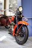 Uitstekend model van motorfiets Stock Afbeeldingen