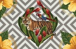 Uitstekend Mooi en in Naadloos Patroonontwerp in super hoge resolutie De Textuur van de patroondecoratie Uitstekend stijlontwerp vector illustratie